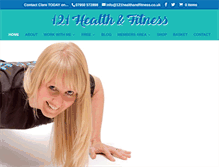 Tablet Preview of 121healthandfitness.co.uk